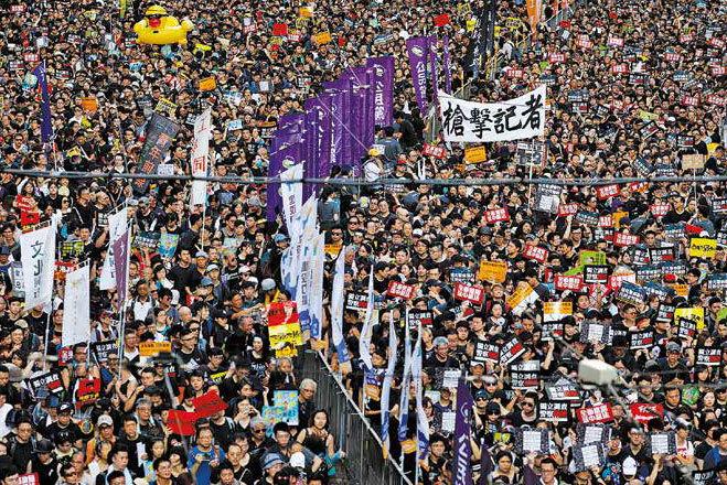 香港的抗爭是捍衛基本人權的警鐘