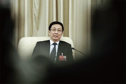 韓正發家醜聞多 充當上海幫接班人