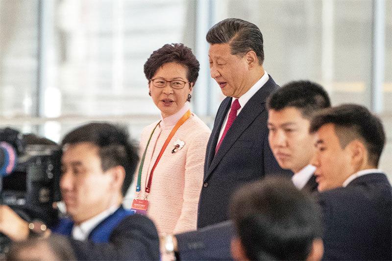 習嚴查香港假情報? 傳韓正返京檢討「香港政策」