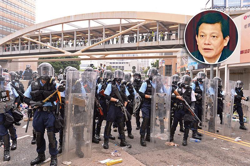 廣東公安疑涉鎮壓反送中 前副廳長李慶雄落馬