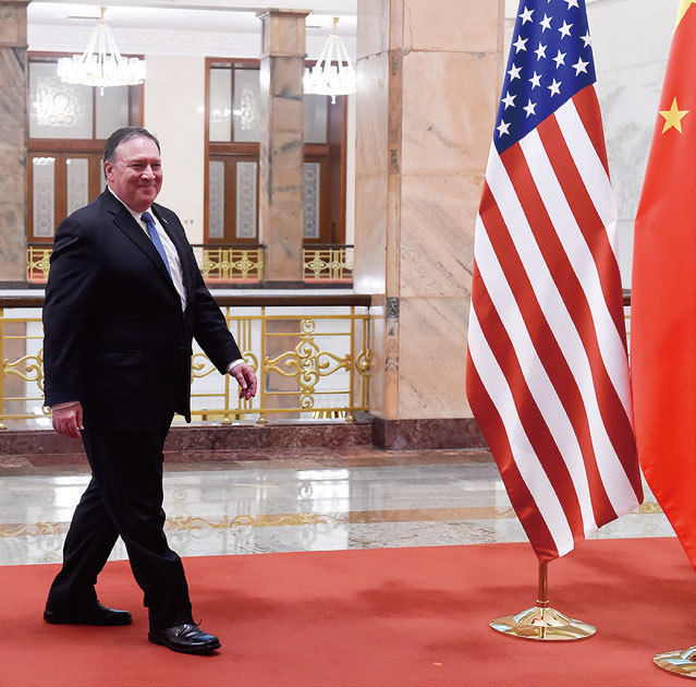 >中國不是美國敵人但中共是