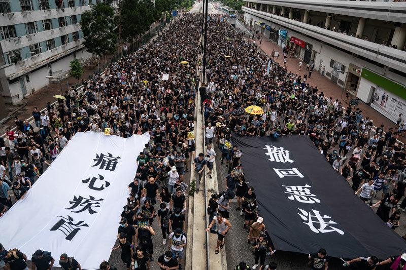 >中共擔心香港抗爭引發蘇聯式解體