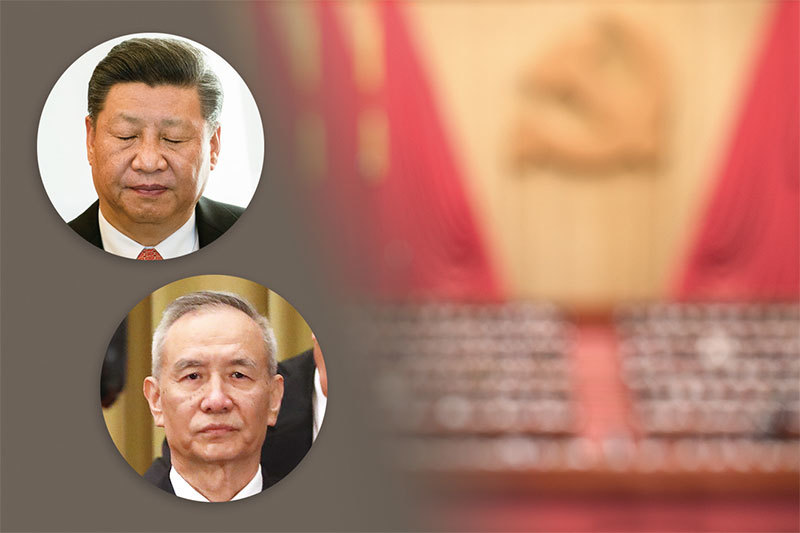 貿易戰加劇中共分裂 強硬派施壓習近平 劉鶴受攻擊