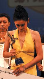 蓮花淨出不染心       專訪全世界中國舞舞蹈大賽青年女子組冠軍任鳳舞